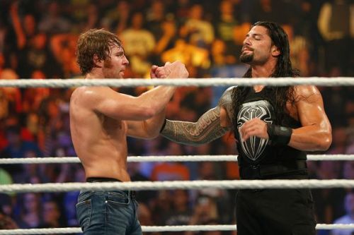 A heel Ambrose and Reigns?