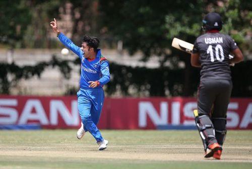 UAE v Afghanistan - ICC Cricket World Cup Qualifier