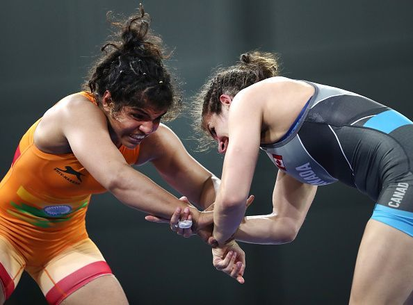 Wrestling Commonwealth Games Day