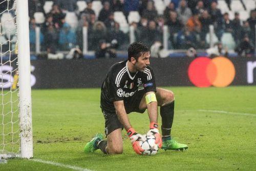 Gianluigi Buffon during the Champions League match Juventus...