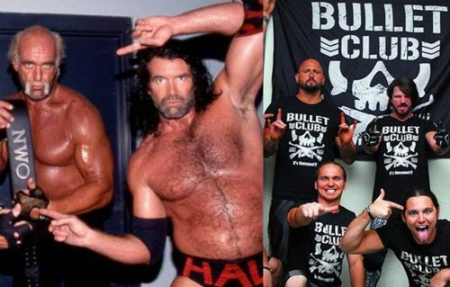 Eric Bischoff gives his take on the nWo and Bullet Club