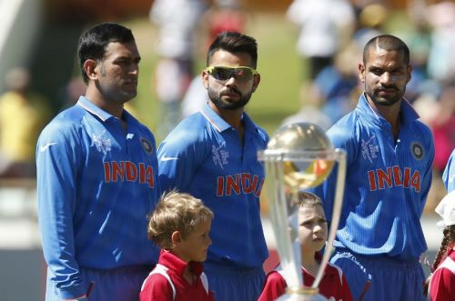 Virat Kohli will lead India for the first time in World Cup