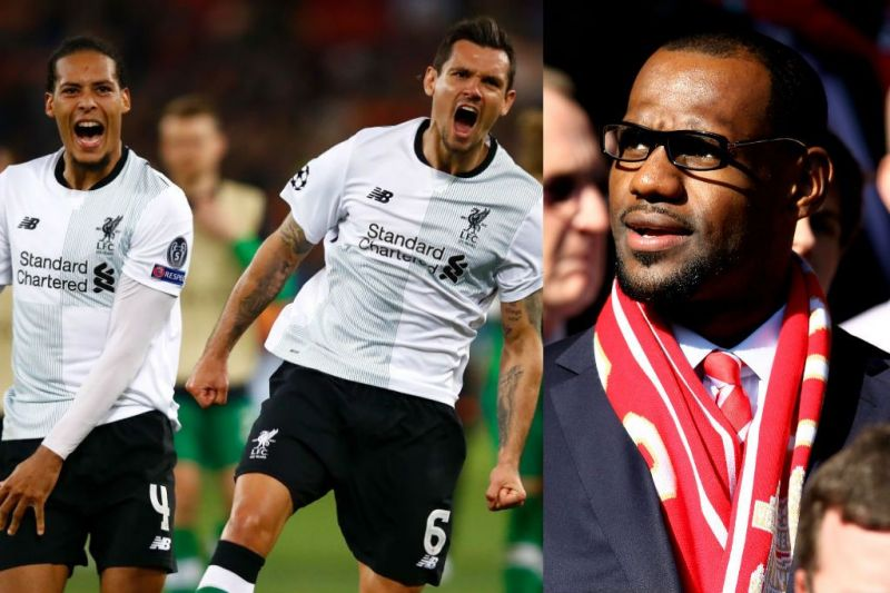 sports shoes fd2c5 e9555 LeBron James benefits financially from Liverpool's run to ...