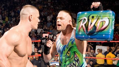 Rob Van Dam won the contract back in 2006