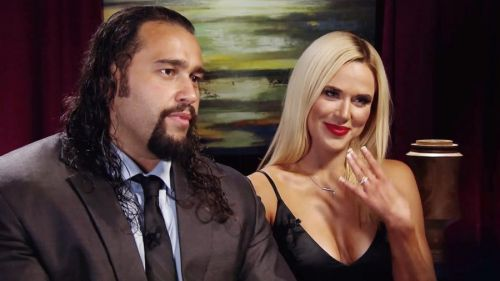 Rusev and Lana are one of the company's hottest couples right now