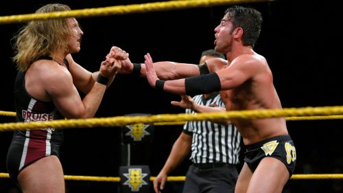 Pete Dunne finally got his hands on Roderick Strong this week on NXT