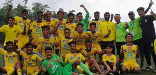 Kerala Blasters became the first team to qualify for the semi-finals of the  U-18 Y-League.