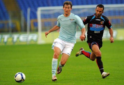 Lazio's Swiss defender Stephan Lichtstei