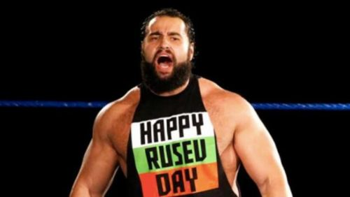 The sun never sets on Rusev Day?