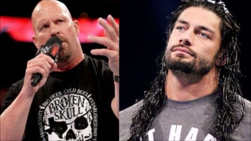 Image result for stone cold roman reigns sportskeeda