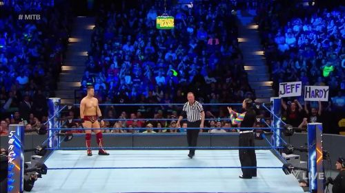 SmackDown kicked off with a big Qualifier Match for the MITB ladder match