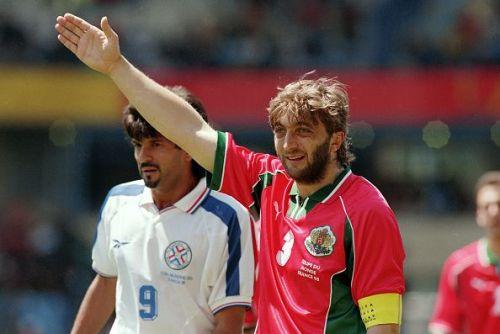 Soccer - World Cup France 98 - Group D - Paraguay v Bulgaria
