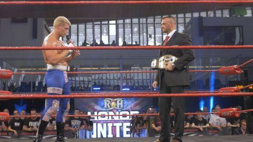 Cody Rhodes and Nick Aldis