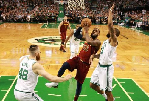 2018 NBA Playoffs: Cleveland Cavaliers vs Boston Celtics At TD Garden