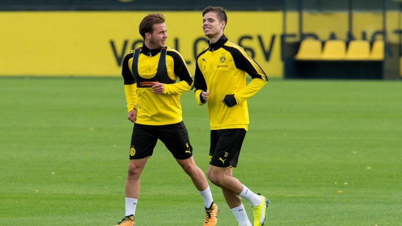 The two Dortmund midfielders have been left out for different reasons