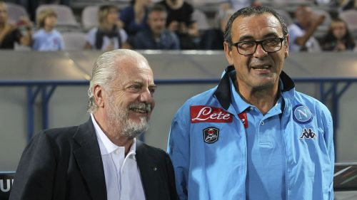 Aurelio De Laurentiis Maurizio Sarri