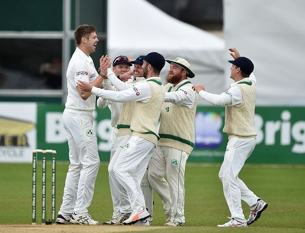 Ireland did not have a very bad outing on their Test debut
