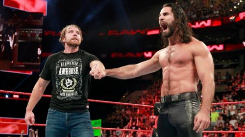 Seth Rollins and Dean Ambrose reunite as a Tag Team