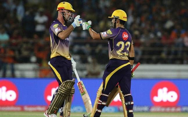 The partnership of 184 between Gambhir and Lynn remains the highest opening partnership in IPL history