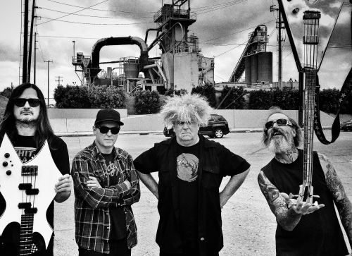 Pioneering hard rock band The Melvins
