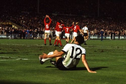 Geoff Hurst goal 1966 World Cup final England West Germany