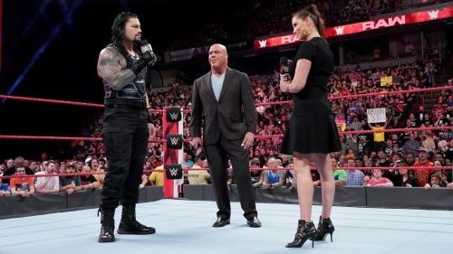 Reigns had a good reason for missing RAW