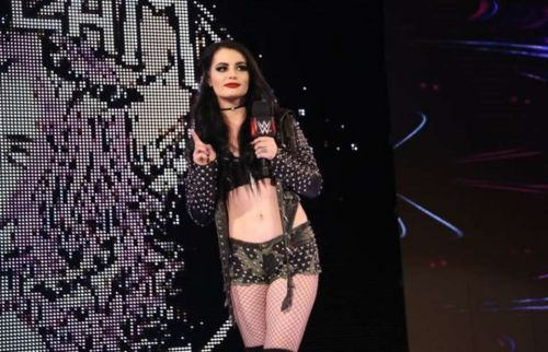 Paige officially announced her retirement earlier this year