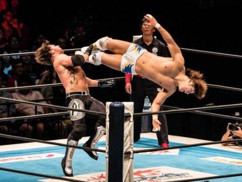 Styles vs Ibushi- Invasion Attack
