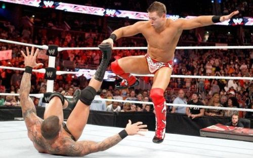 The Miz cashed in his Money in the Bank contract on Randy Orton