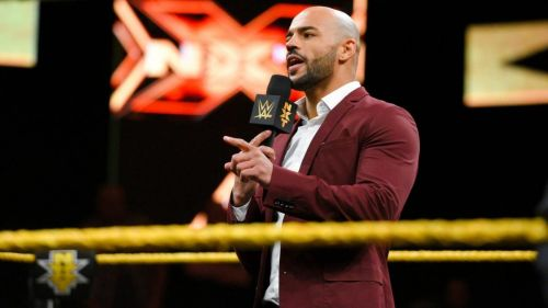 Ricochet ran into a familiar face at the top of this week's show