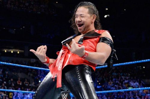 Shinsuke Nakamura has never been one to back down from confrontation