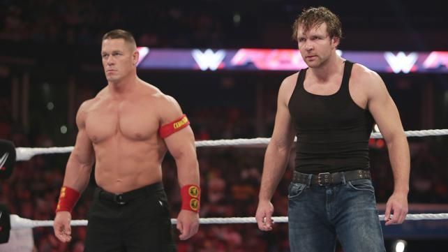 Both Cena and Ambrose could add to SmackDown Live