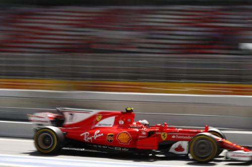 Vettel in Spain 2017