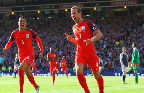 2017 World Cup 2018 Qualifier Scotland v England Jun 10th