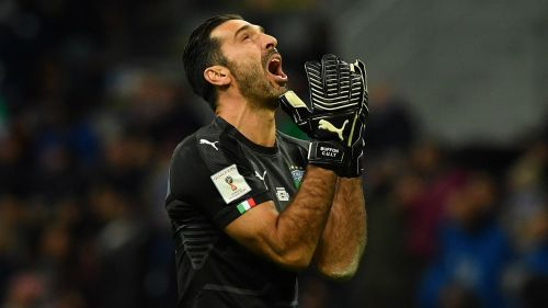 Buffon Italy v Sweden World Cup Qualy 13112017