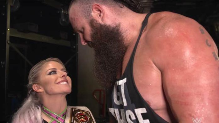 WWE News Braun Strowman Tells Alexa Bliss The Meaning Of