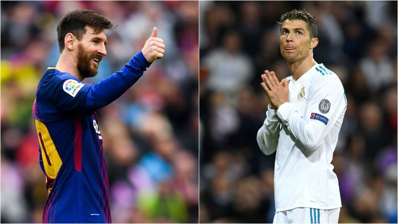 d2b053f6b6f Barcelona v Real Madrid  Messi s dominant 2017-18 LaLiga numbers leave  Ronaldo trailing