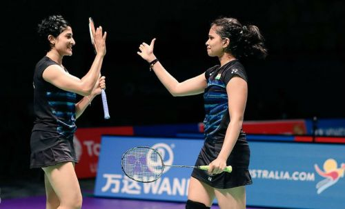 Ashwini Ponnappa and N Sikki Reddy's combination has worked wonders