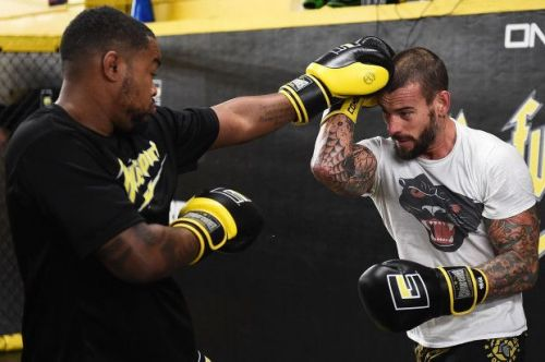 CM Punk seems primed to make a statement at UFC 225
