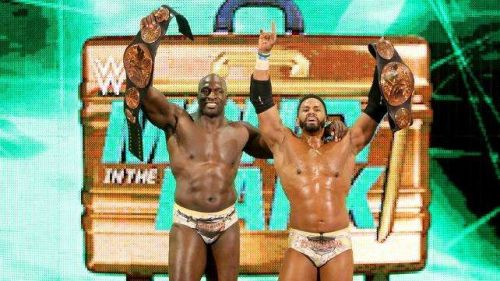 Titus O'Neill was once a tag team champion