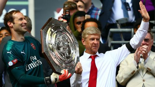 Cech and Wenger - cropped