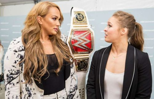 Ronda Rousey electrified the crowd in her WWE house show debut match
