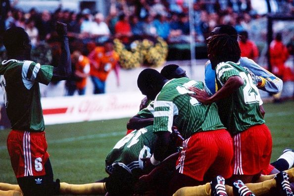 Cameroon v Argentina - 1990 World Cup