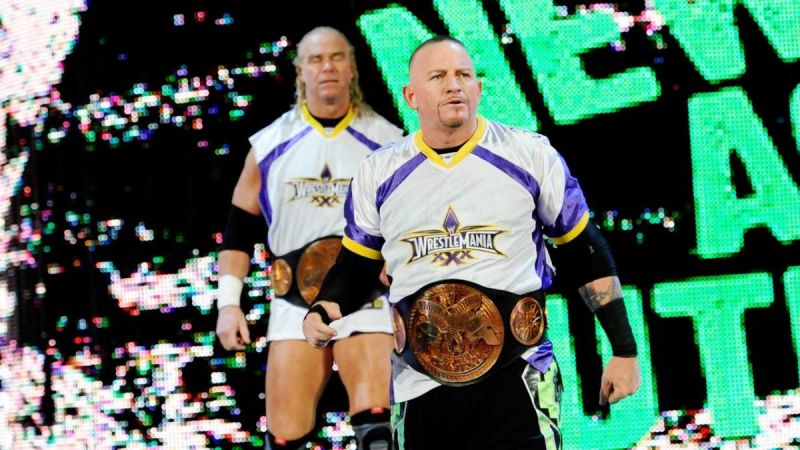 There have been several WWE runs by The New Age Outlaws