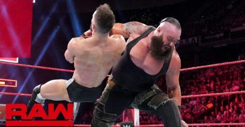 Braun Strowman vs Finn Balor from Raw