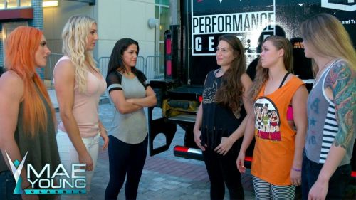 Becky Lynch strikes first as she calls out The Four Horsewomen