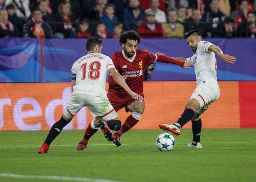 2017 UEFA Champions League Seville v Liverpool Nov 21st