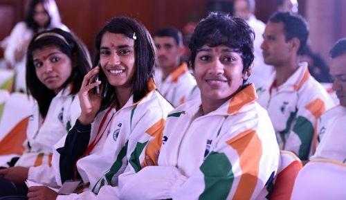 Prime Minister Narendra Modi Meets Rio 2016 Olympics-bound Athletes