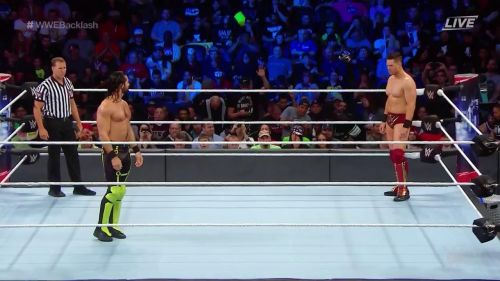 The best of RAW faced the best of SmackDown for the IC Title