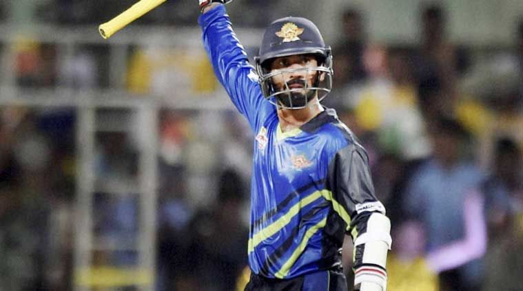 Karthik, perhaps the most sought-after commodity in cricket these days, was picked by Karaikudi Kaalai